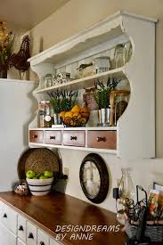 The Styling Hutch Designdreams By Anne How To Make A Wall Shelf Out Of A Hutch