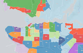 Vancouver Canada Map by Interactive Map What U0027s The Most Popular Baby Name In Your Area