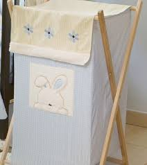 espresso laundry hamper baby nursery cool dirty clothes hampers for baby blue bunny baby
