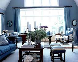 Modern Blue Bedrooms - living room cool blue interior design with modern blue