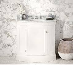 single sink console vanity demilune single sink white console
