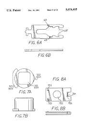 patent us5074605 duplex latch bolt mechanism google patents