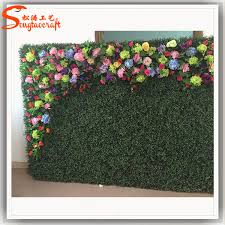 wedding backdrop grass stylized plastic artificial grass wall artistic
