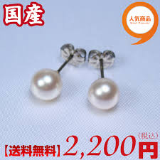 most hypoallergenic earrings pearl antique rakuten global market japan produced oh