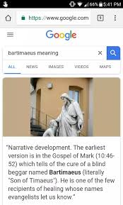 Bartholomew The Blind Man What U0027s The Meaning Of Bartimaeus In The Bible Updated 2017 Quora