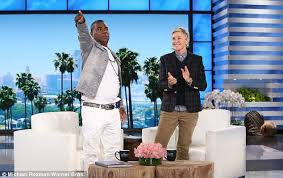 Role Playing In The Bedroom Tracy Morgan Opens Up On The Ellen Degeneres Show Daily Mail Online