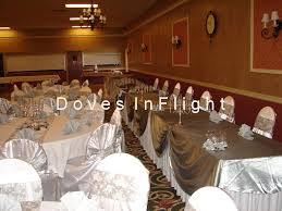 Silver Chair Covers Chair Covers Of Lansing Table Decorations