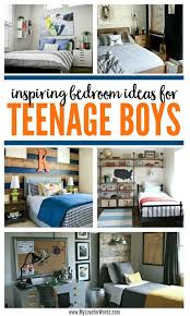inspiring bedroom ideas for teenage boys young man men cave and