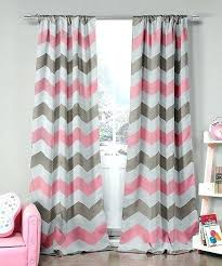 Pink Chevron Curtains Grey Chevron Blackout Curtains Uk Gopelling Net