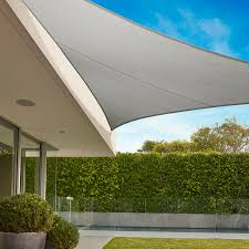commercial grade triangle shade sail coolaroo