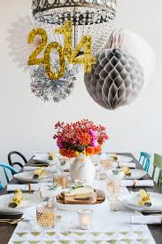 new year s decor 35 black and white new year s party table decorations
