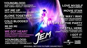Hologramm Le Jem And The Holograms Original Motion Picture Soundtrack Sler