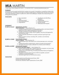 8 sample executive assistant resumes letter signature