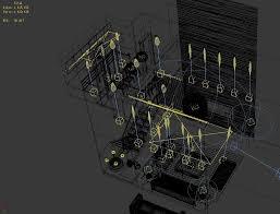duplex style simple living room 1812 3d model in living room 3dexport