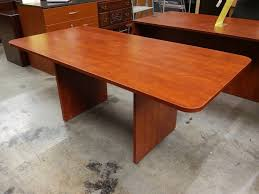 72 X 36 Conference Table Basyx By Hon Cherry Conference Table 36 X 72 A M Office Supply