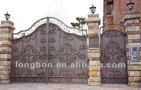 Main Door Flower Designs by Top Selling Elegant Sliding Garden Iron Gate Flower Design Buy