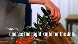 choose the right knife for the job pampered chef youtube