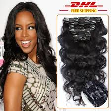 Where Can I Buy Clips For Hair Extensions by 8a Virgin Brazilian Hair Body Wave Clip In Extensions 120g Clip In