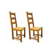 chaise en bois et paille chaise bois assise paille la redoute