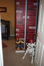 Ladder Decor For Toddler Firetruck Room One Day - Firefighter kids room