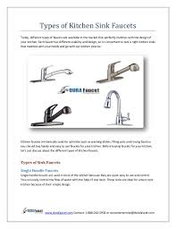 kitchen faucet types types of kitchen sink faucets 1 638 jpg cb 1442470709