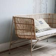 coussin d assise canapé canapé en rotin avec coussin d assise coon house the cool