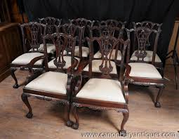 Chippendale Dining Room Set by Chippendale Dining Chairs Chinese Chippendale Hollywood Regency