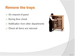 guest check tray provide room service d1 hbs cl ppt