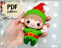 sewing patterns christmas elf christmas elf felt pattern santa helper pattern christmas penny