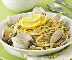 Main Dish With Sauce - linguini with white clam sauce family circle