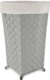 contemporary laundry hamper lamont linden round laundry hamper 142288473307 29 99