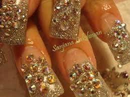 bling nail art designs how to look good 22 ideas picsrelevant