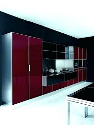 meuble cuisine laqué meuble cuisine laque cuisine et bois en 42 idaces