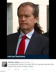 bill shorten u0027s questionable new mullet hairstyle sets twitter