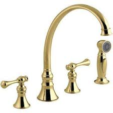 kohler brass kitchen faucets kohler brass kitchen faucets kitchen the home depot