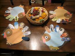 turkey placemats thanksgiving placemats for kiddies made with pictures of things