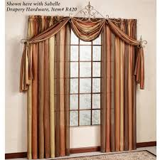 scarves and matching pillows bed of tennessee fabric rag ombre semi sheer scarf valance and window treatments