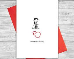 Congratulations Nurse Card Medical Thank You Card Nurse Thank You Gift Doctor Thank