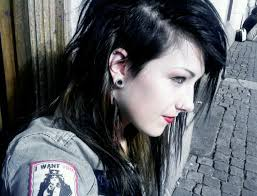 long choppy haircuts with side shaved shaved side hair for shortcut hair pinterest shaved hairstyles