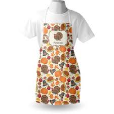 thanksgiving apron personalized aprons youcustomizeit
