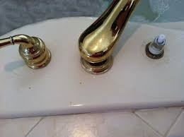Replacing Bathtub Faucet Tub Faucet Leaking Delta Parts Install A New Tub Spout When