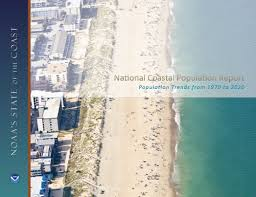 us cover map noaa noaa u s census report finds increases in coastal population