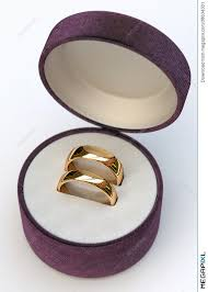 jewelry rings box images Couple of gold wedding rings in jewelry white box stock photo jpg