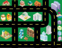 printable road maps printable toy car road map between3sisters