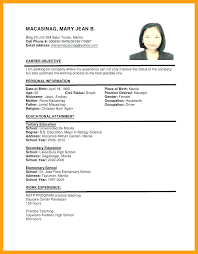 resume for application format application resume template format luxury sle for