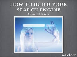 how to build a custom search engine
