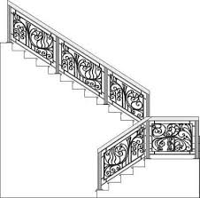 wrought iron stair railings page 06