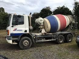 daf 75 cf 6x4 concrete mixer 2001 y reg manual pump in four