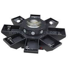 eight claw pro lighting green dj or disco laser lights for