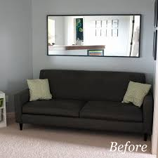 Bookshelf Behind Couch Mirror Over Sofa Table Sofa Hpricot Com
